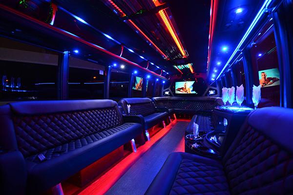 40 Person Party Bus Rental Florida